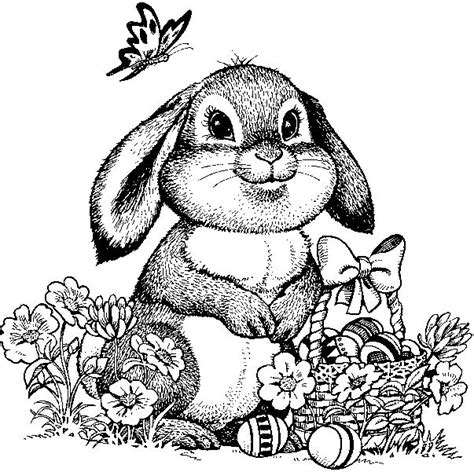 hard bunny coloring pages disegni sulla primavera da stare e colorare foto