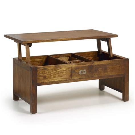 table basse plateau relevable katanga