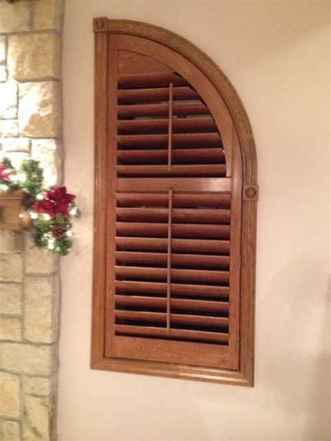 interior louvered shutter efficient window coverings 17 best images about arched plantation shutters on