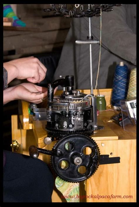 restored sock knitting machines 20 best as the rope turns images on antique