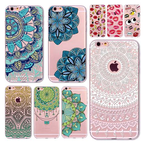 Casing Silicon Soft Iphone 5 5s Se Flower Bling Cover 1 aliexpress buy for iphone 7 6 6s 5 5s se