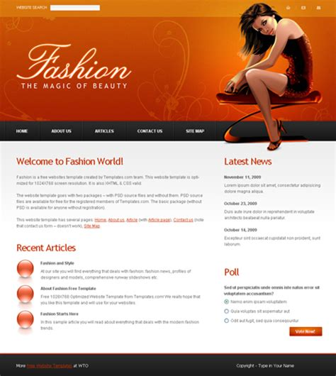 Personal Site Template Free by Personal Website Templates Tristarhomecareinc