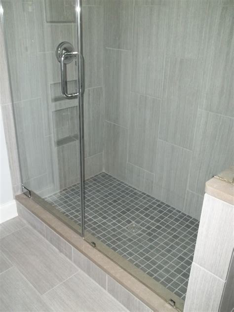 vertical tile contemporary bathroom other metro by franks home maintenance