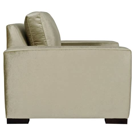 Silver Armchair by Regency Mocha Wood Chagne Silver