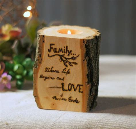 home decor candle holders home decorating ideasbathroom home decorating ideas rustic cool burned log candle holder