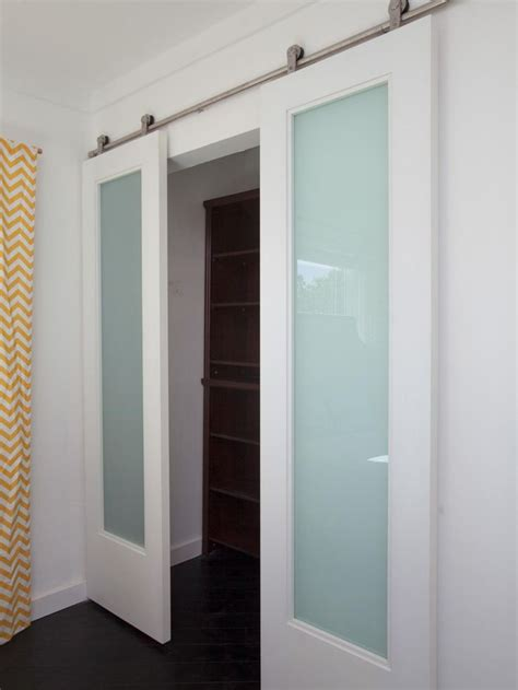 Bedroom Closet Doors Flipping The Block Tour The Finished Master Bedrooms Glass Barn Doors Guest Rooms And