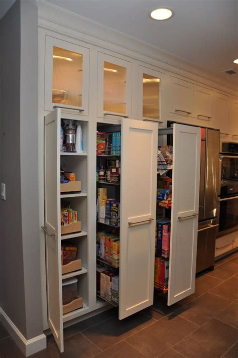 Pull Out Pantry by Pull Out Pantries This Homeowner Likes The Pull Outs