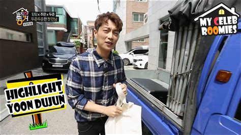 my celeb roomies episode list my celeb roomies yoon dujun dujun joined as a roomie