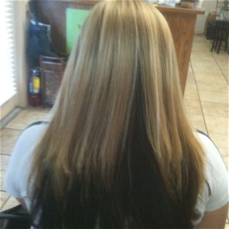 hairstyles blonde on top brown underneath blonde top dark brown underneath hairstyles pinterest