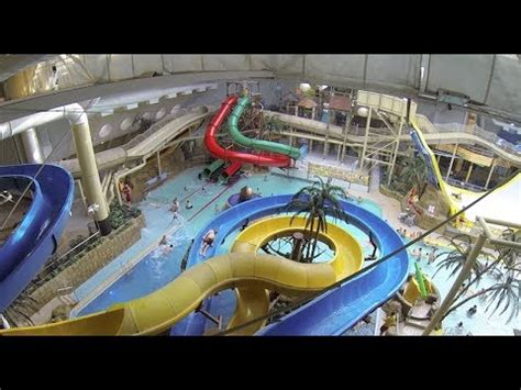 Indoor Swimming Pool by Blackpool Sandcastle Water Park Povs Youtube