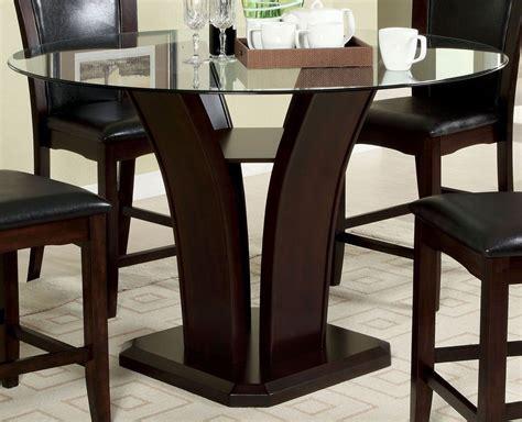 manhattan i dark cherry oval pedestal dining room set manhattan i dark cherry round pedestal dining room set