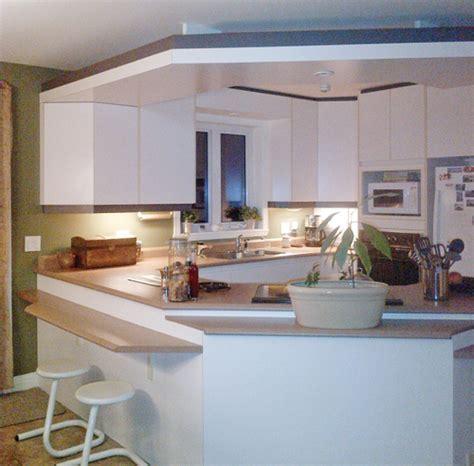 stratifié comptoir cuisine un comptoir revu et corrig 233 pour la cuisine cuisine