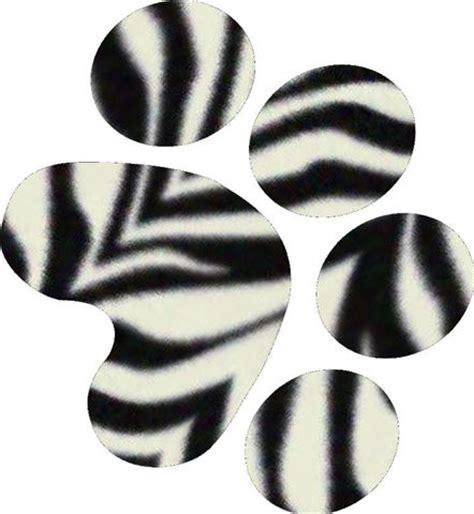 keeps paw printable zebra print stencil free clip free clip on clipart