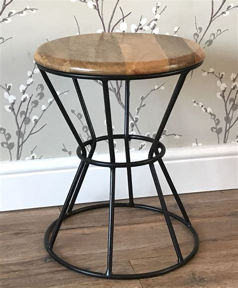 industrial urban bar stool shabby vintage chic kitchen pub