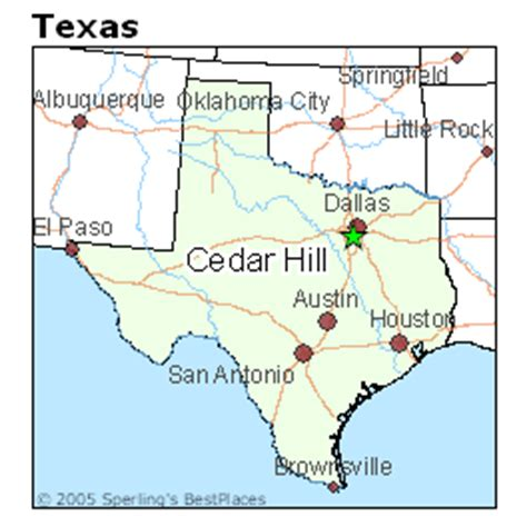 map of cedar hill texas best places to live in cedar hill texas