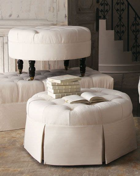 round tufted ottoman with skirt 9 best images about crafts on pinterest