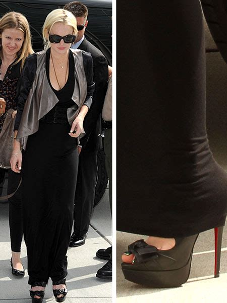 Lindsay Lohan In Christian Louboutins by Lindsay Lohan Faces Impatient Judge Extratv