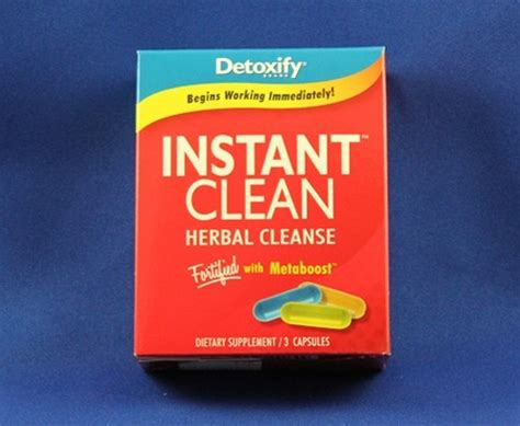 Flush Detox Thc by Detoxify Instant Clean Urine Detox How To Pass A Hair