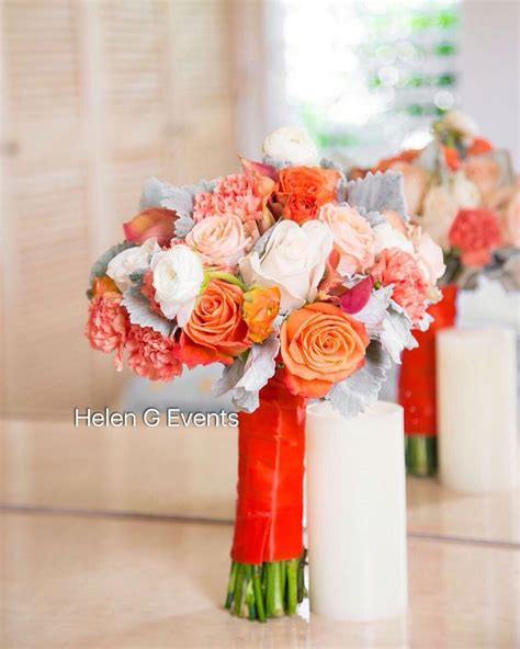 Wedding Bouquet Jamaica by 17 Best Images About Orange Themed Wedding Ideas On