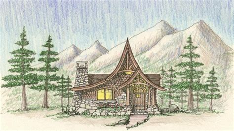 Tale Cottage House Plans by Tale Cottage House Plans Storybook Style Cottage