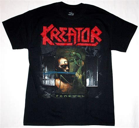 Tshirt Kreator Black kreator renewal 82 thrash sodom deathrow