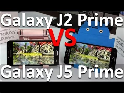 Samsung J5 Vs J2 galaxy j2 prime vs galaxy j5 prime diferencias j2 y j5
