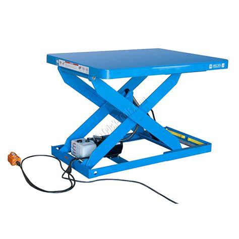 scissor lift platform table stationary scissor lift platform 2500 lbs capacity