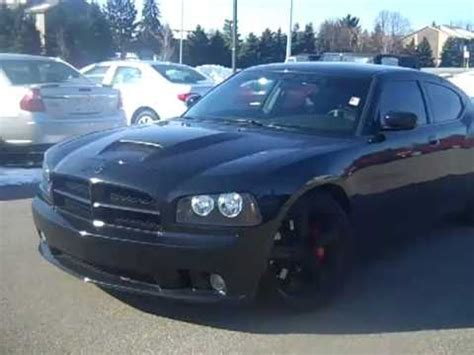 blacked out '06 dodge charger srt8 hemi youtube