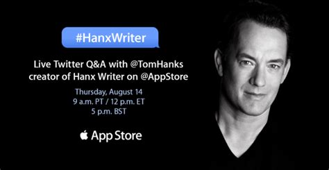 actor x app read the entire tom hanks interview with the app store on