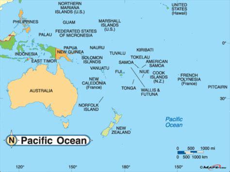 australia pacific map per8 0809 travel