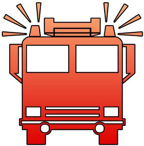 Firetruck Outline by Truck Clipart Clipart Best