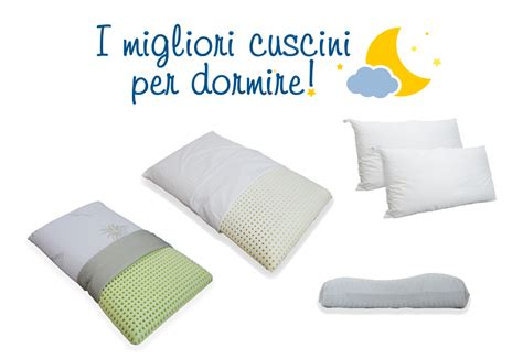 cuscino per dormire in cuscini
