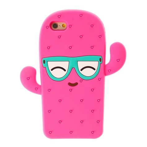 Iphone 55sse66s66s 77 3d Cactus this phone is in the shape of a cool sunglasses