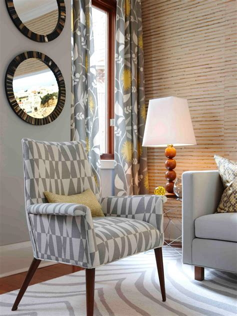 Patterned Chairs Living Room Photo Page Hgtv