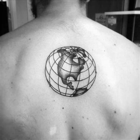small mens tattoo designs 80 globe designs for traveler ink ideas