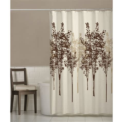 Curtains With Trees On Them Buy Delaney Fabric Tree Shower Curtain By Maytex Bedbathhome