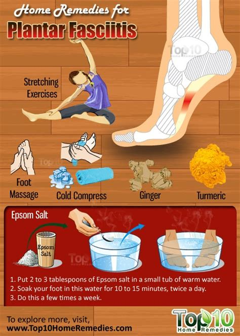 How To Cure Planters Fasciitis by Home Remedies For Plantar Fasciitis Top 10 Home Remedies