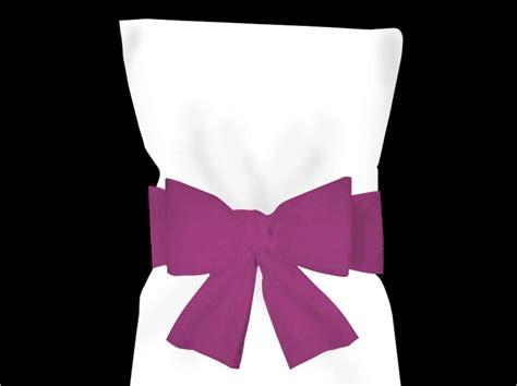 noeud de chaise violet noeud pour housse de chaise violet decofete servimag
