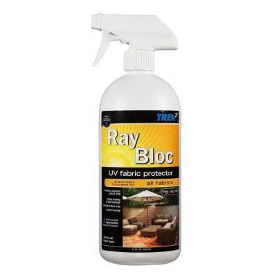 upholstery protection spray trek7 32 oz ray bloc uv fabric protector spray rbuv32