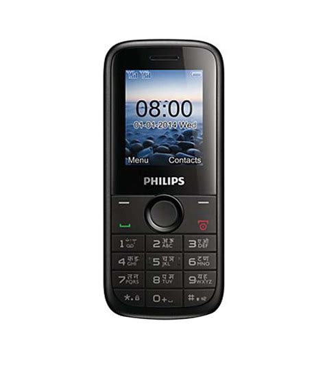 philips mobile phone e black philips e130 black feature phone at low prices