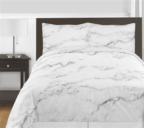 marble bed marble comforter set 3 piece full queen size by sweet