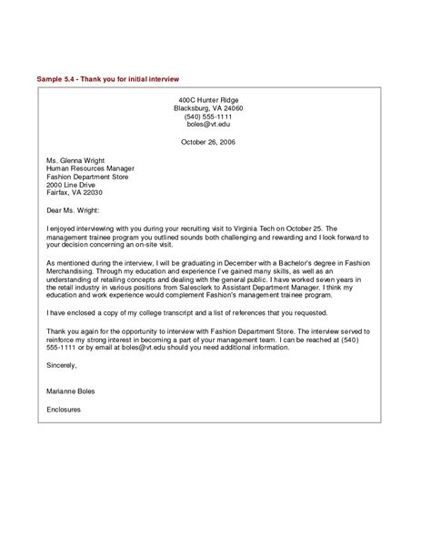 thank you letter after executive director thank you letter sle recentresumes