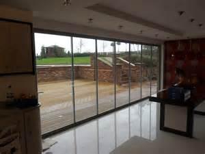 Bifolding Patio Doors Frameless Glass Curtains Ltd Frameless Doors Bi Folding