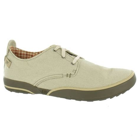 caterpillar cat mens status canvas oxford lace up shoes