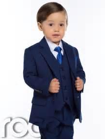 Baby Suit Baby Boys Blue Suit Slim Fit Suit Baby Suits Blue Suits