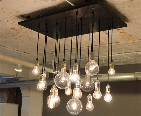 Industrial Style Lighting by Industrial Style Chandelier