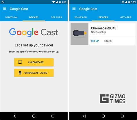 chromecast setup android how to set up a new chromecast