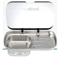 leisure kitchen sink spares spinflo argent sink and drainer with glass lid spare