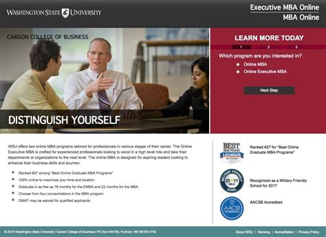 Washington State Mba Program by 20 Instagram Landing Page Exles That Seal The Conversion