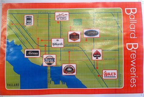 seattle microbreweries map ballard nano brewery walk seattle wa address